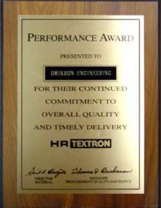 "</p> <div align=""center"">Performance Award</div> <p>"